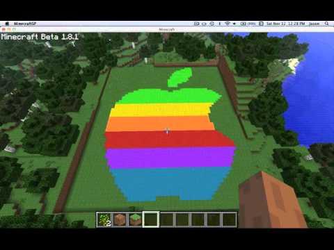 Minecraft Apple Logo