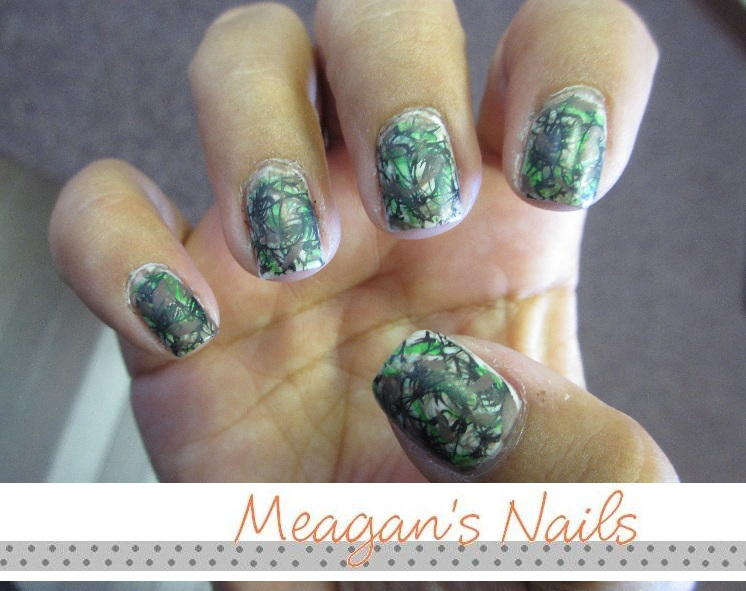 Mossy Oak Camo Nail Designs