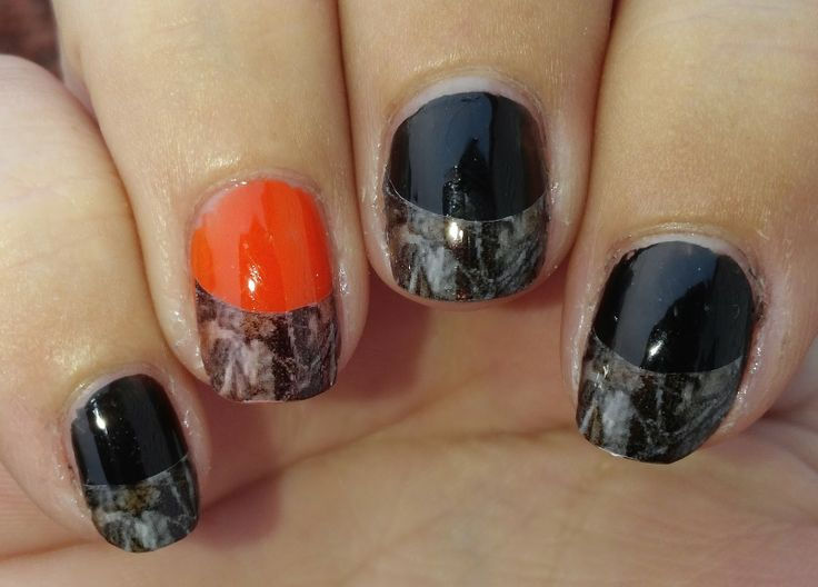 Mossy Oak Camo Nails