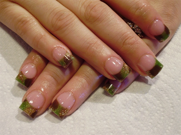 Mossy Oak Nail Tips