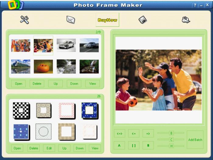 Download aplikasi frame.