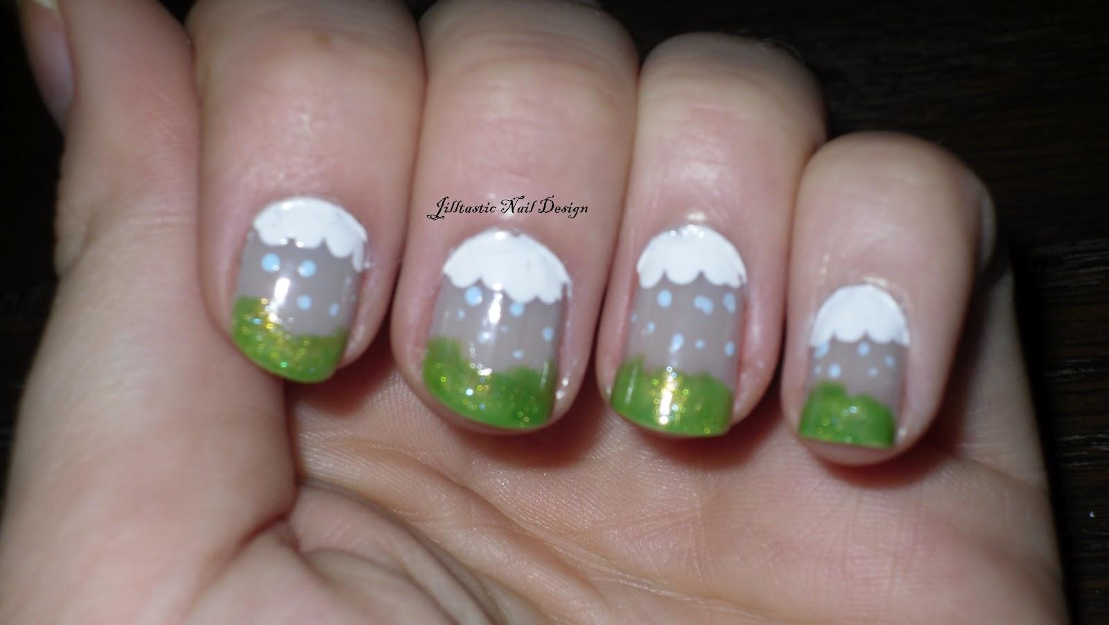 Rain Nail Art