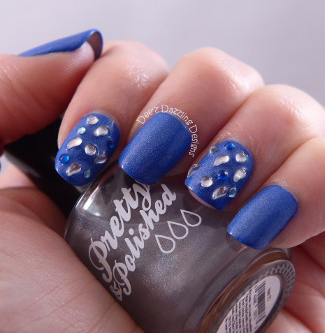 Royal Blue Nail Art Designs