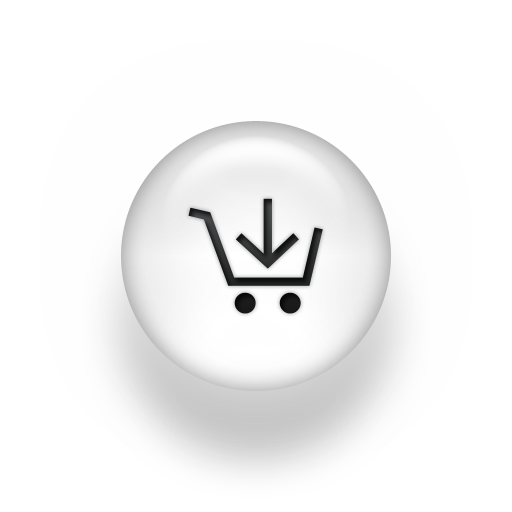 Shopping Cart Icon with Arrow