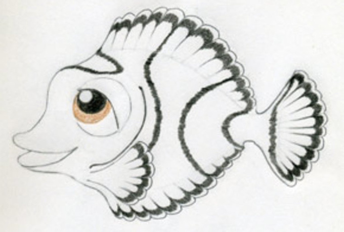 Simple Fish Tattoo Designs