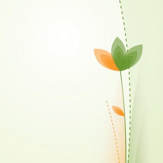 Simple Flower Vector Floral Design