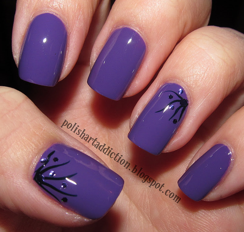 Nail polish design easy : Easy nail polish designs very design and