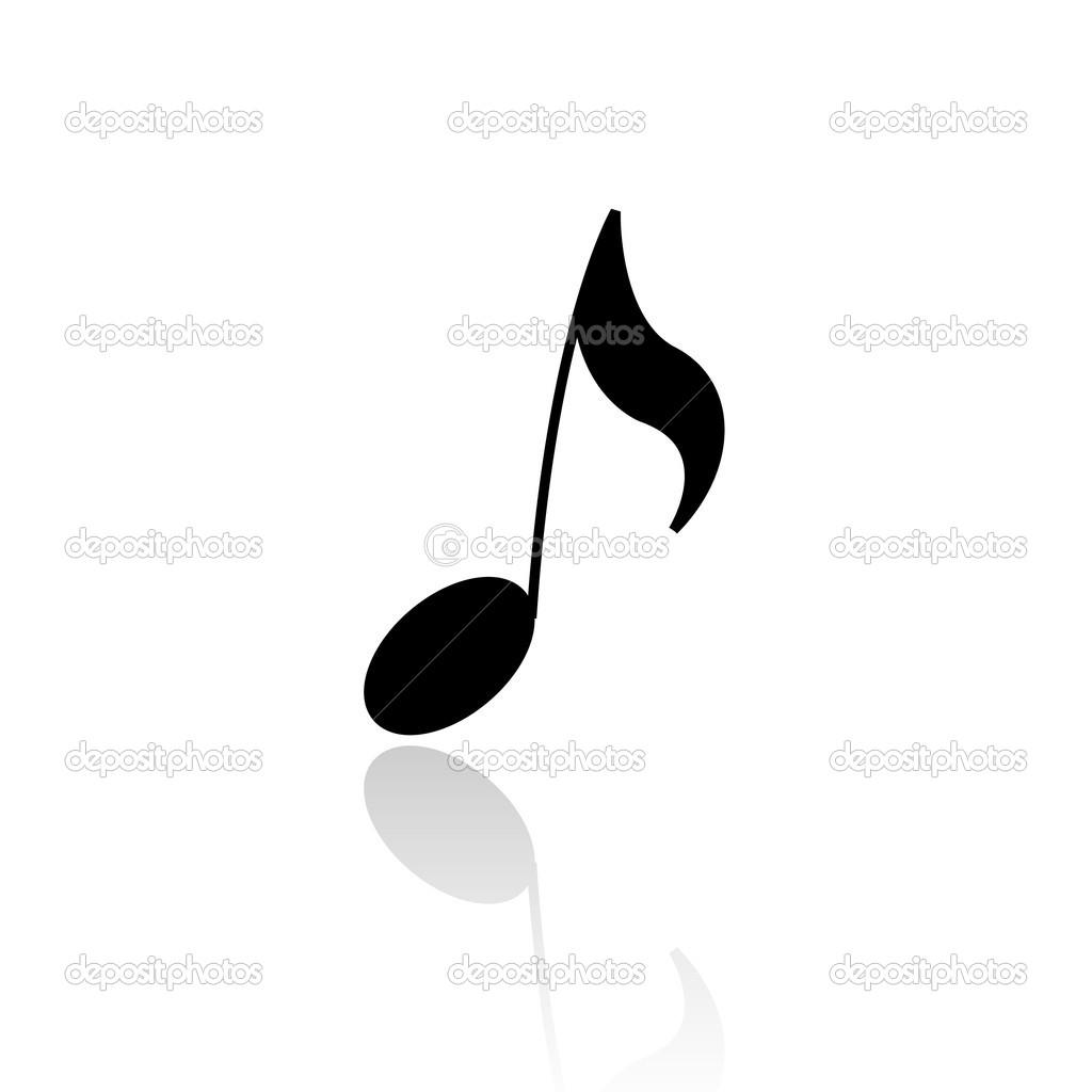 Single Music Notes Symbols