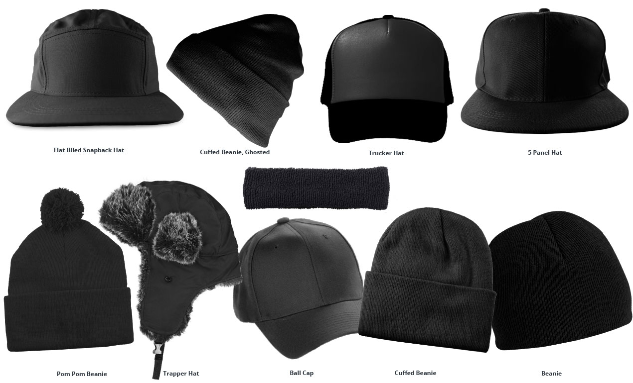 Snapback Hat Template Free Photoshop Mockup
