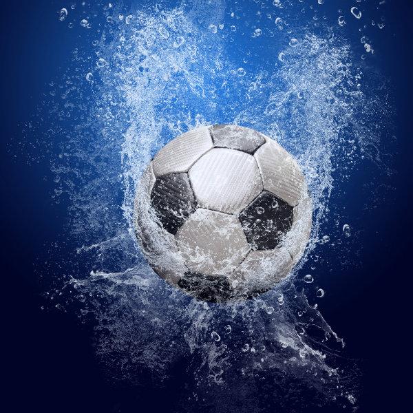 Soccer Ball Water