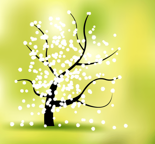 Spring Flower Vector Graphics