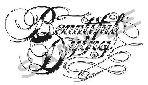 Tattoo Script Lettering Fonts Generator