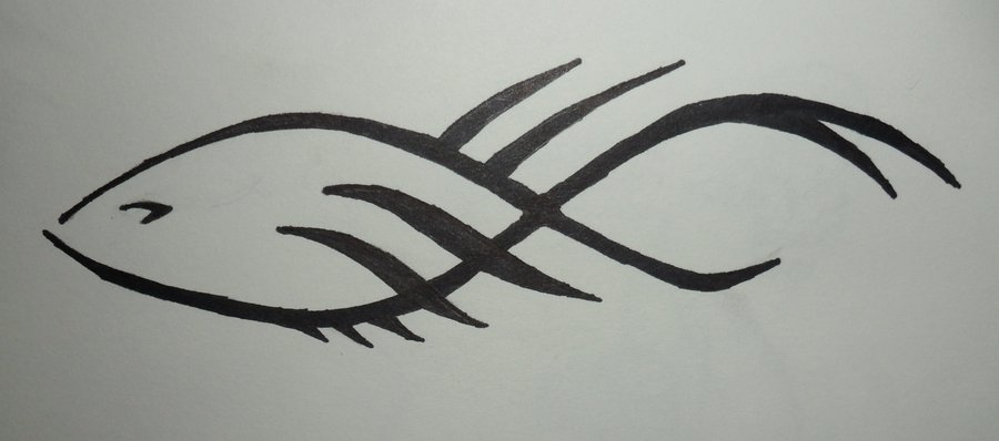 Tribal Fish Tattoo Designs