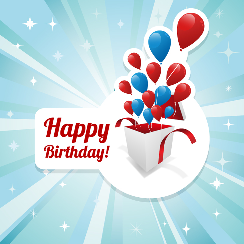 19 Birthday Vector Graphics Images