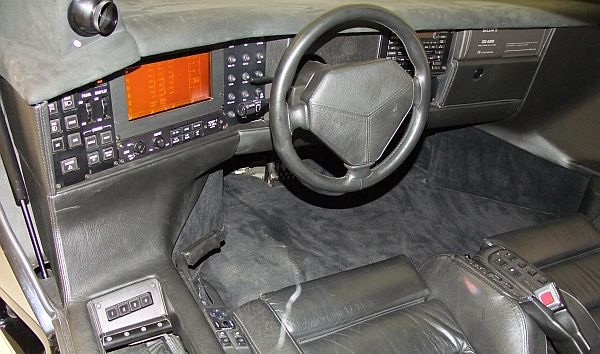 7 Vector M12 Interior Images