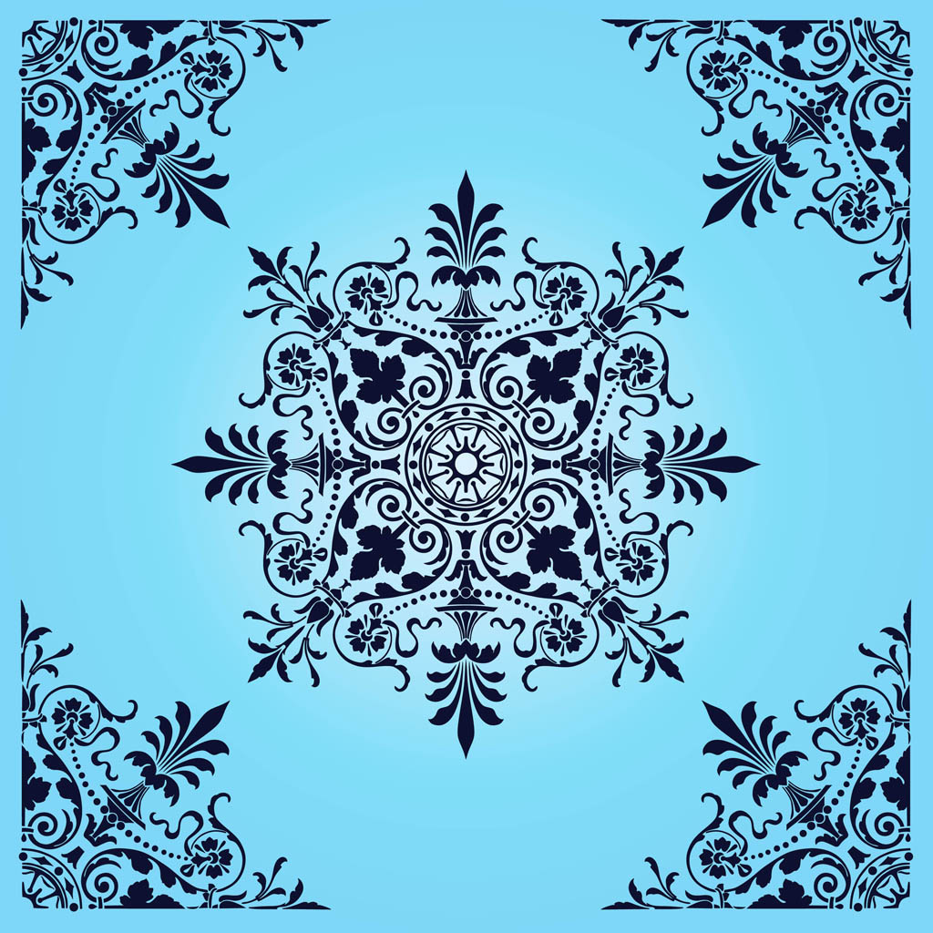 20 Victorian Patterns Vector Images