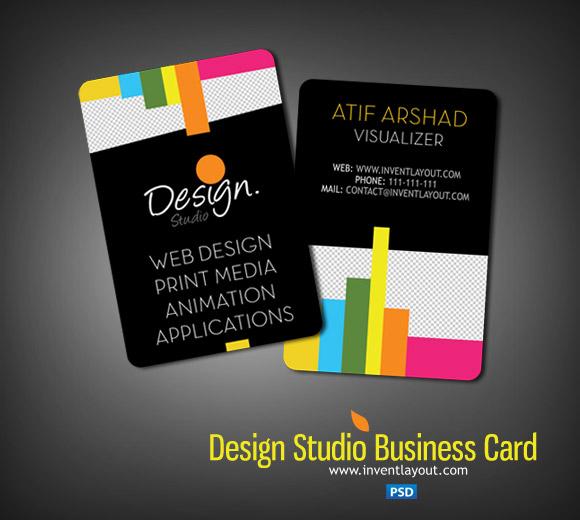 Visiting Card Design PSD