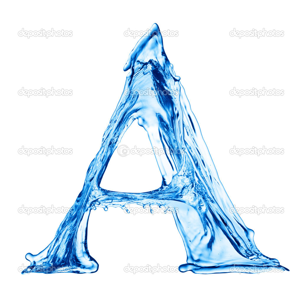 18 Water Letter Font Images - Free Water Letters Font ...