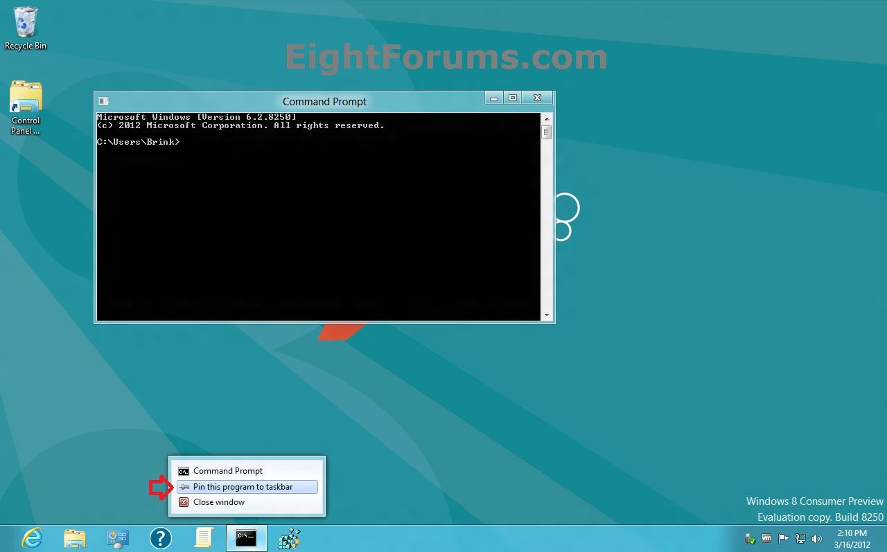 10 Windows 8 Taskbar Icons Images