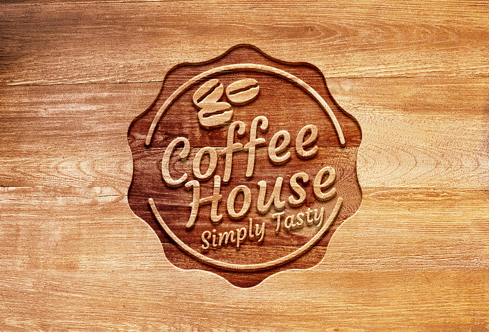 15 Photoshop Wood Sign PSD Images