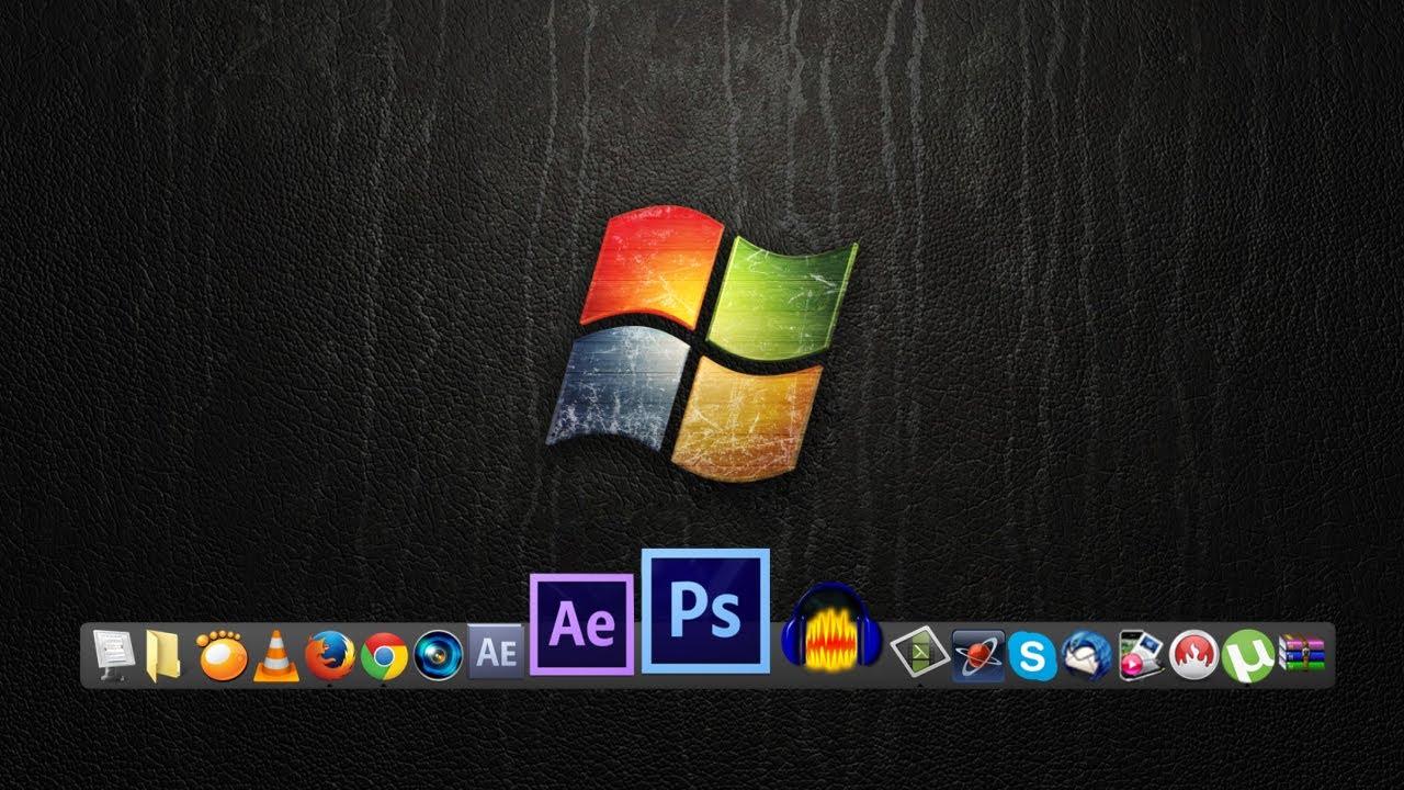YouTube Icon Windows 7