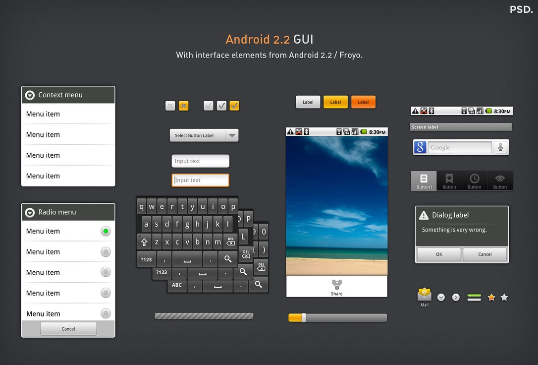Android GUI Interface
