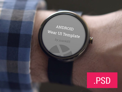 Android Watch Wear Templates Free