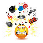 Angry Animated Emoticons
