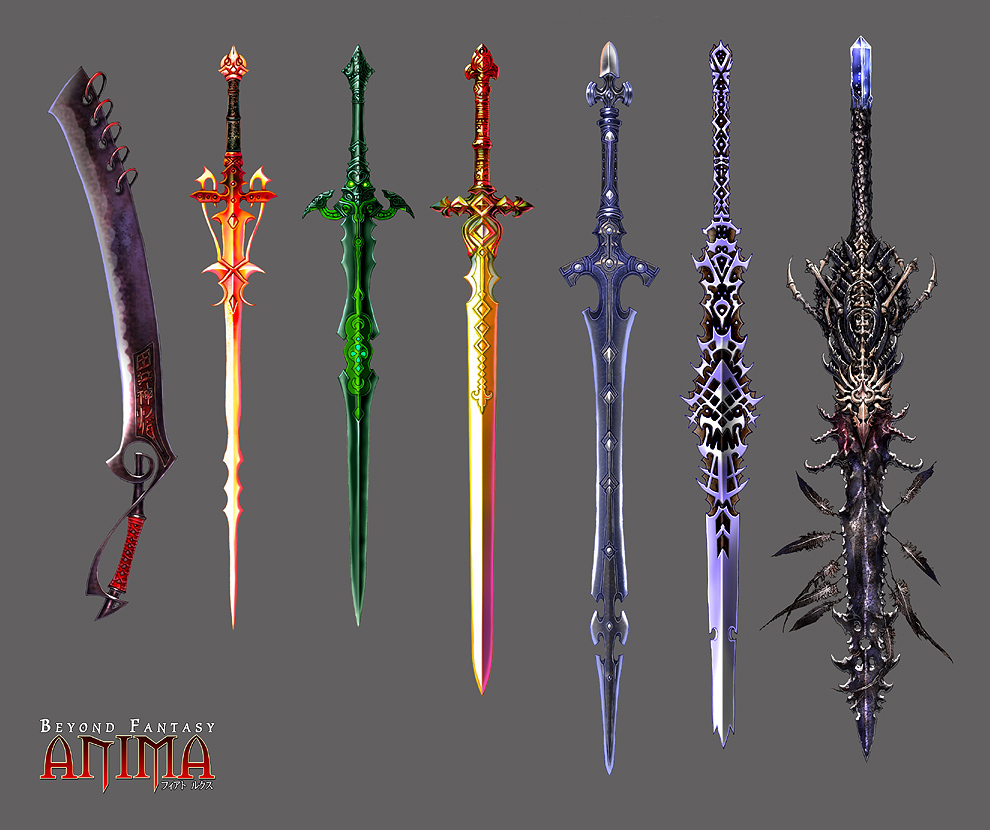 Anime-Sword-Collection