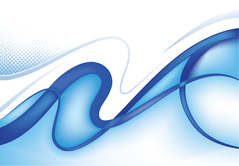 Blue Abstract Vector Graphics
