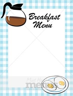 Breakfast Food Border
