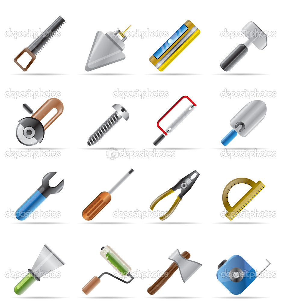 10 Construction Tools Icons Images