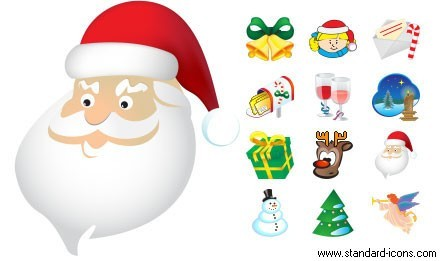 8 Christmas Desktop Icons Images