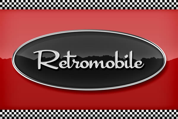 13 Automotive Retro Fonts Images