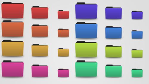 Folder Color Design Custom Folder Icons Free Download Mac