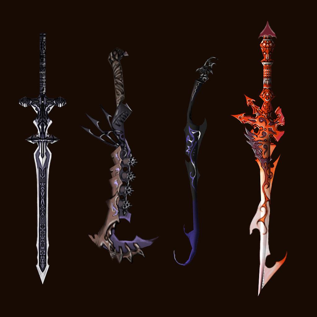 Cool Anime Sword Designs