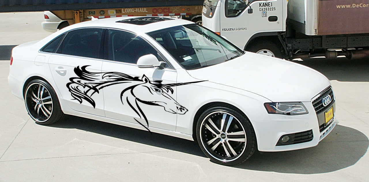 Custom Vinyl Car Graphics Decals