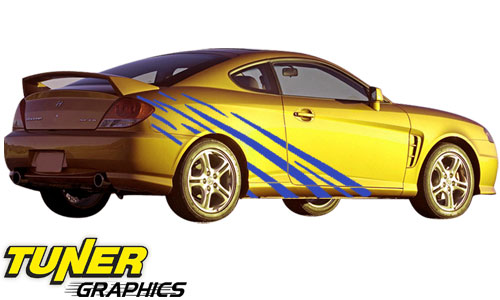 Custom Vinyl Car Graphics