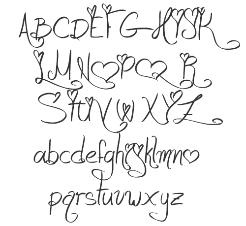 14 Cute Fonts To Draw Images - Teacher Bubble Letters Cute ...