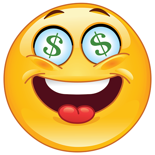Dollar Sign Emoticon