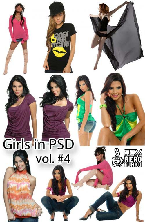 Download PSD Photoshop Girl