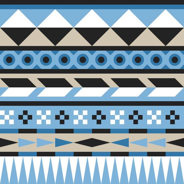 Easy Aztec Patterns