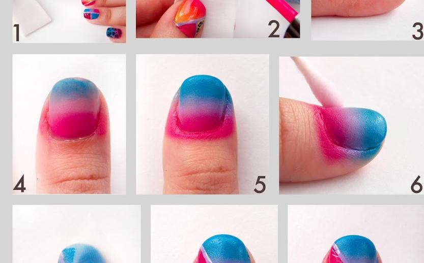 9 Easy To Do At Home Nail Art Designs Images