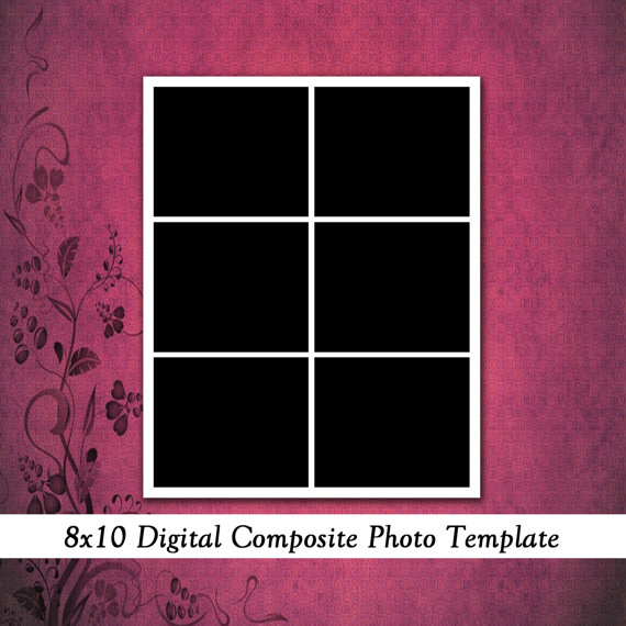 Elements Collage Templates 8X10