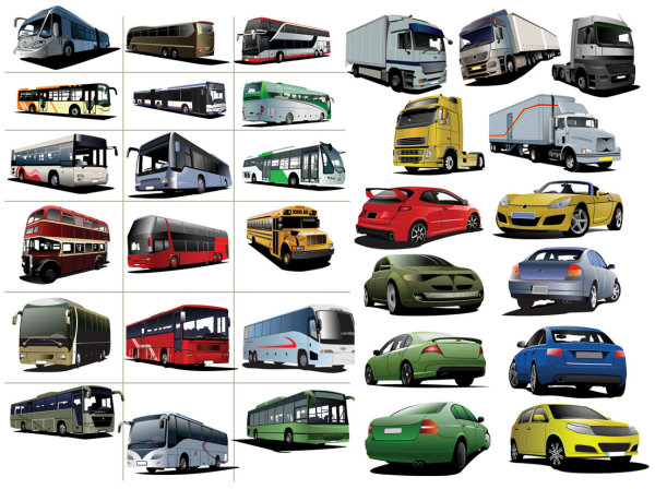 10 Vehicle PowerPoint Icons Images