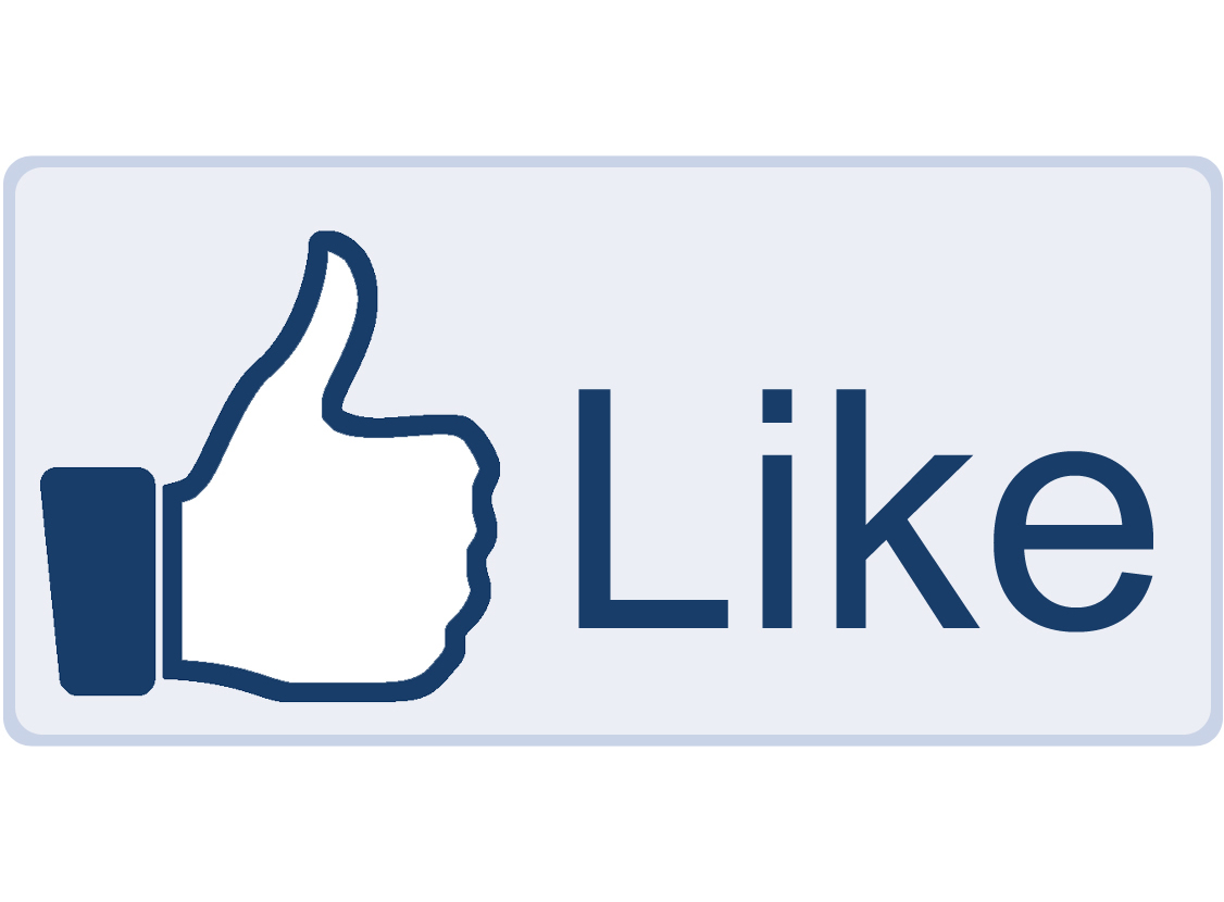13 Like Us On Facebook Icon Images