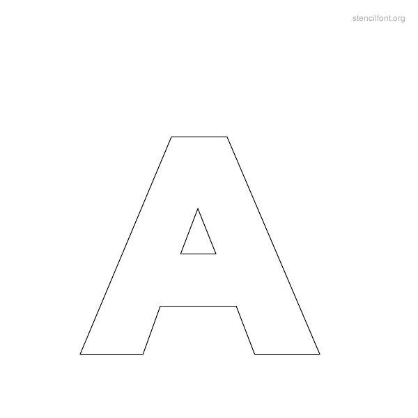 16 Stencil Font Outline Images - Elegant Stencil Outline Font, Fonts