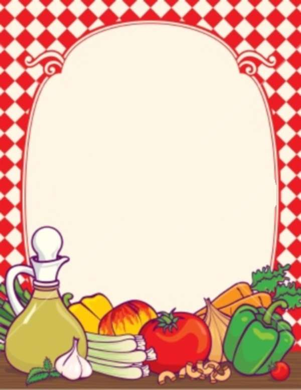 Food Borders Clip Art Free