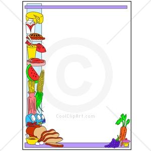 Food Borders Clip Art
