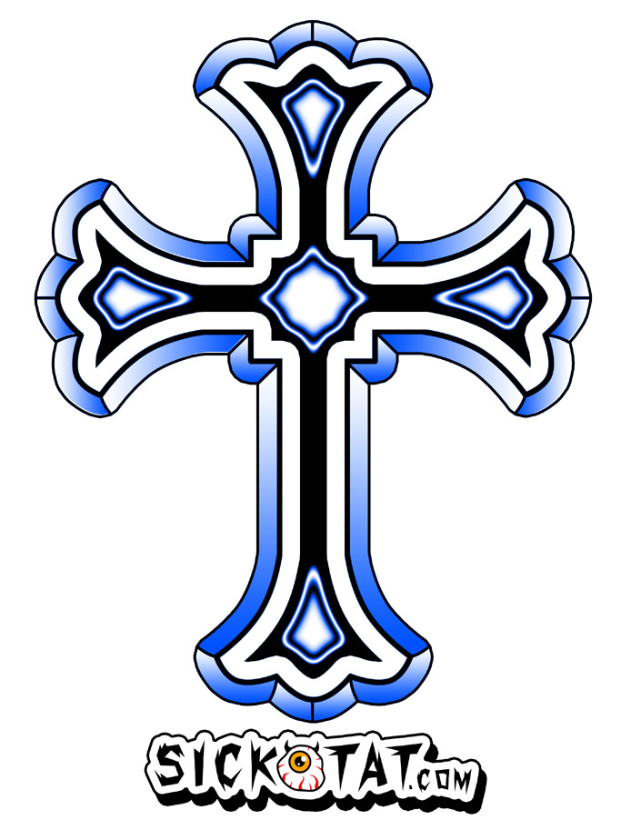 16 Cool Cross Designs Images